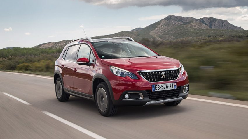 Peugeot 2008: Rollmops