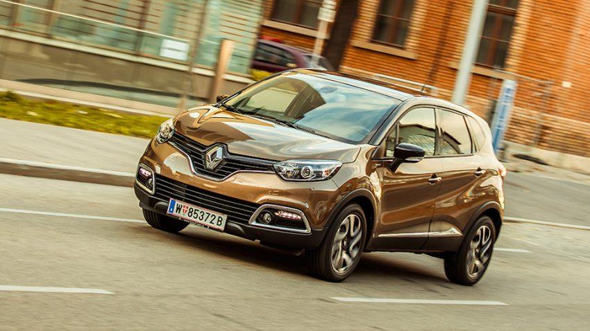 Renault Captur dCi 110 Hypnotic: Kapuzinergrooft