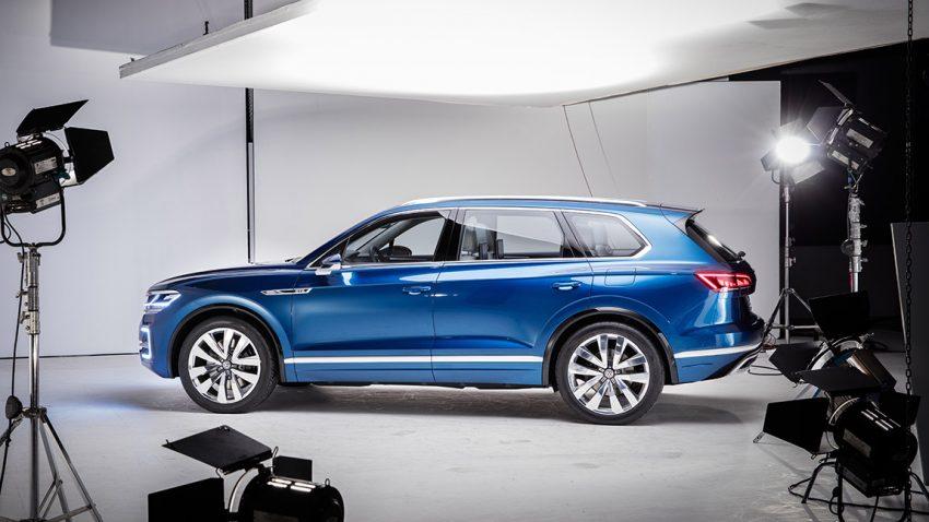 VW T-Prime Concept GTE seite seitlich außen exterieur