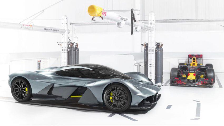 Aston Martin und Red Bull präsentieren Hypercar AM-RB 001