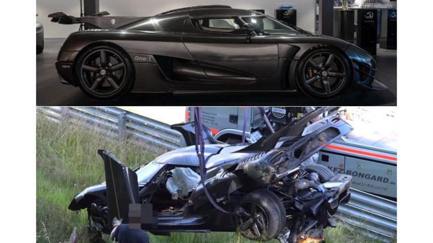 Der am Nürburgring gecrashte Koenigsegg One:1 ist wieder auferstanden