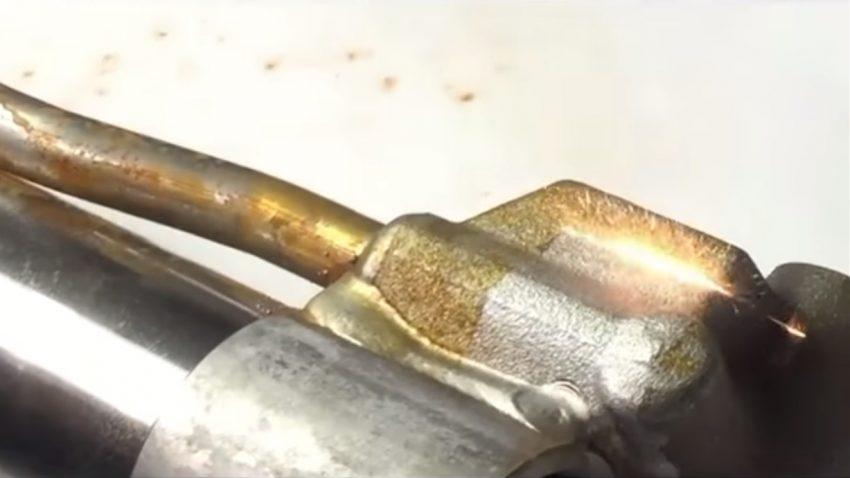 Dieser Laser lässt Rost keine Chance