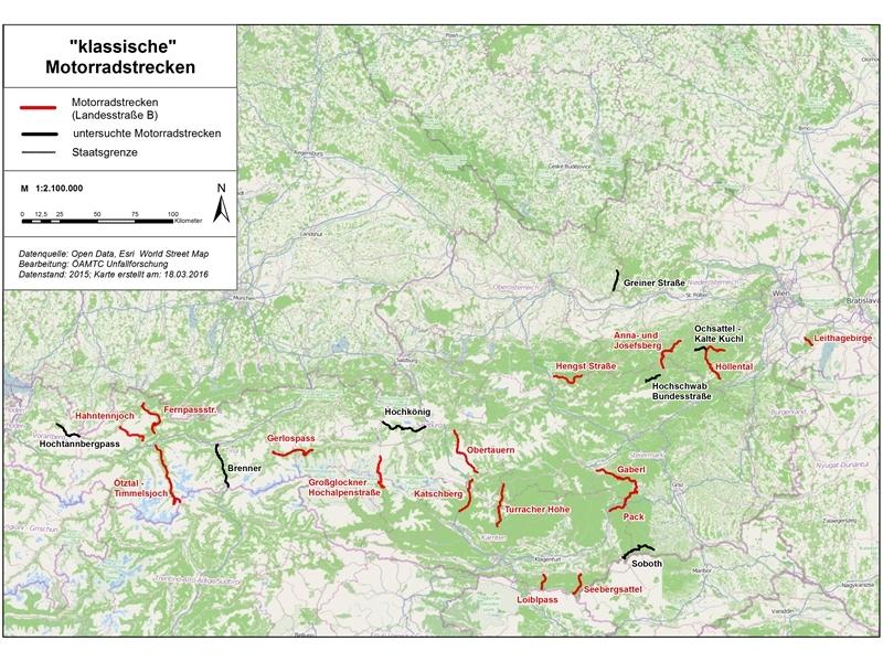 Viele Motorradunfälle sind auf sogenannten klassischen Motorradstrecken zu beklagen In Österreich gibt es viele derartiger Strecken manche hinlänglich bekannt andere gelten als Geheimtipp