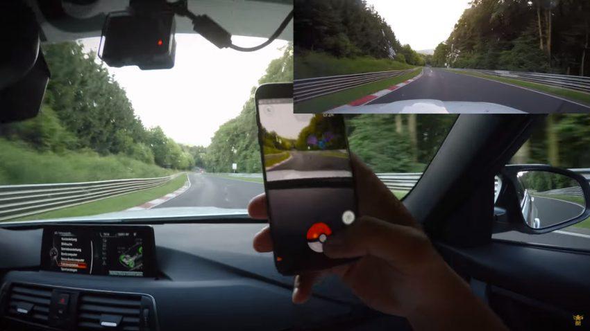 Pokemon GO: Fangen am Nürburgring