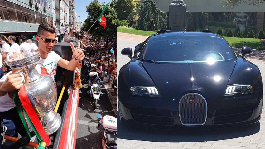Ein Bugatti Veyron für den Fußball-Europameister