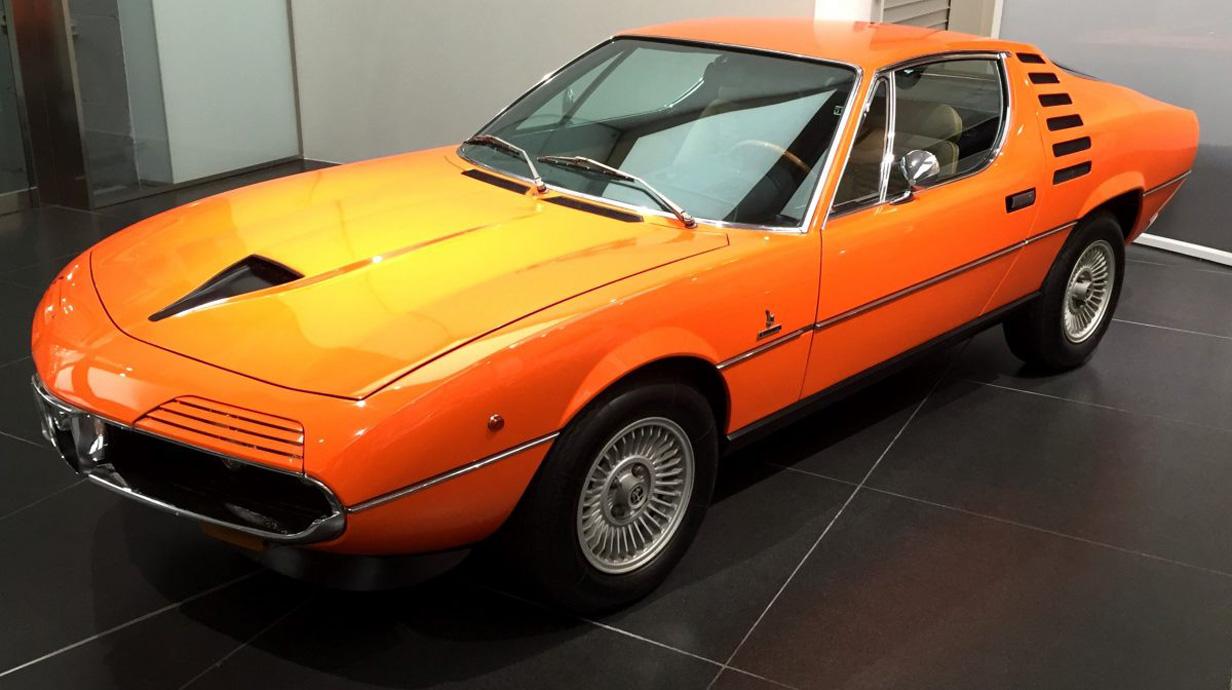 1970 alfa romeo montreal for Garage alfa romeo luxembourg