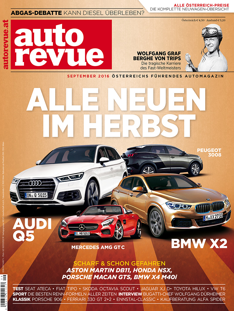 Autorevue 2016 9 September Cover