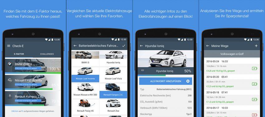 Check-E für Android