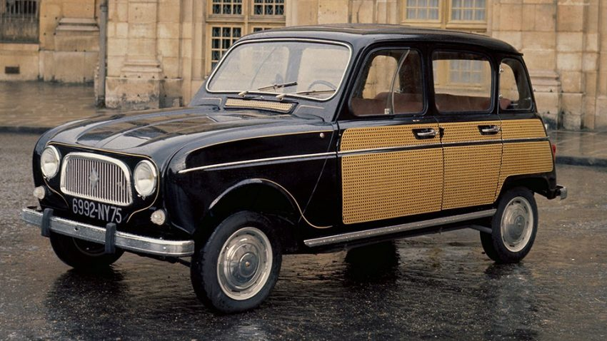 Renault 4: Liebeslaube