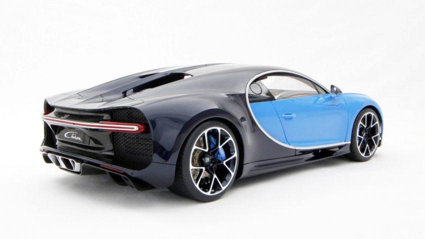 Sogar die Miniatur-Ausgabe des Bugatti Chiron kostet fast 10.000 Euro