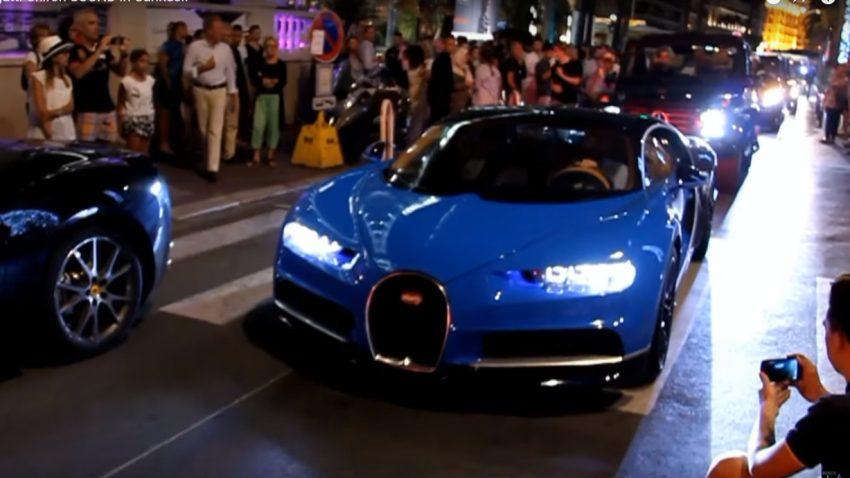 Der Bugatti Chiron in freier Wildbahn
