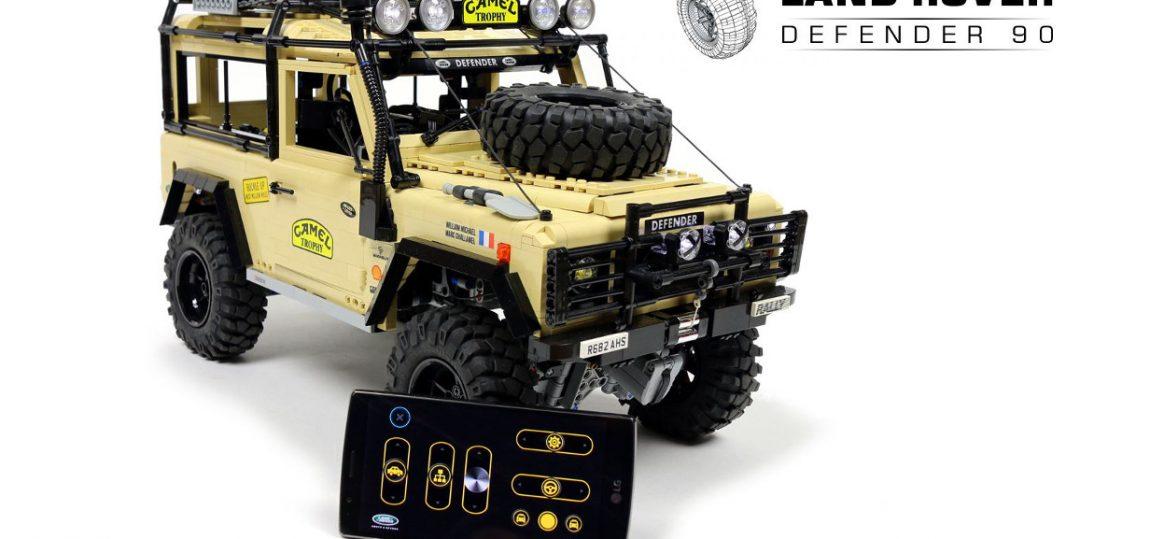 Einzelstück: LEGO Land Rover Defender
