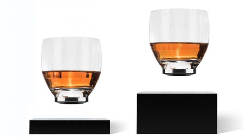 Schwebendes Glas für die coolsten Drinks