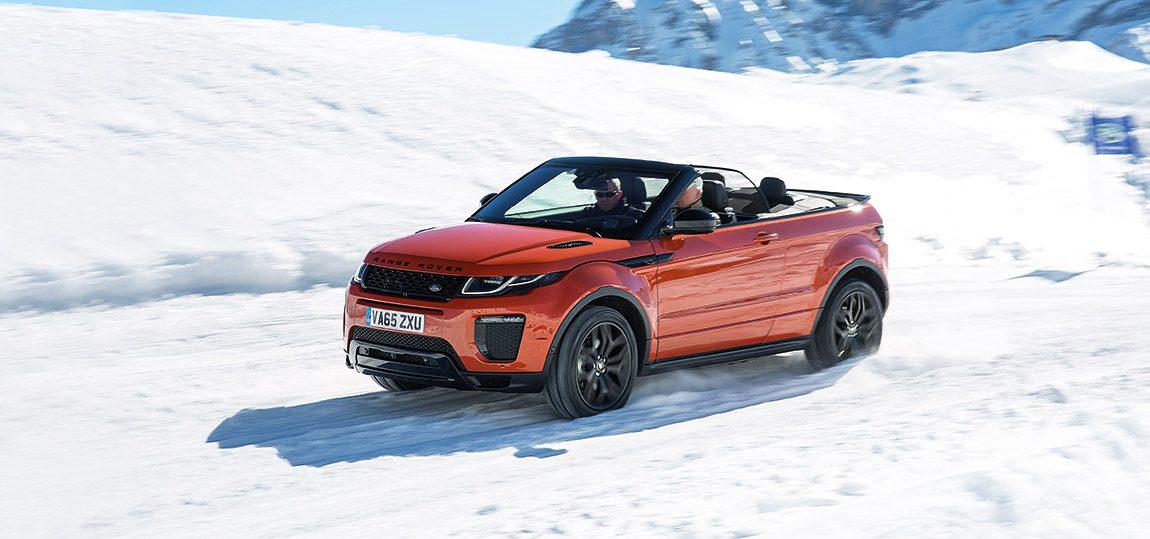 Range Rover Evoque Convertible: Lichte Höhe