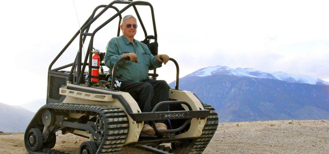 Offroad-Rollstuhl für echte Kerle