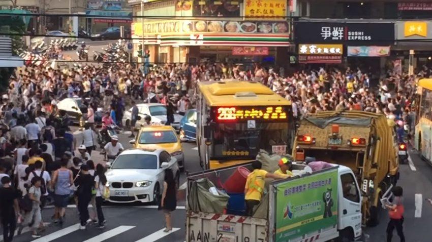 Extrem seltenes Pokémon verursacht Verkehrschaos in Taiwan