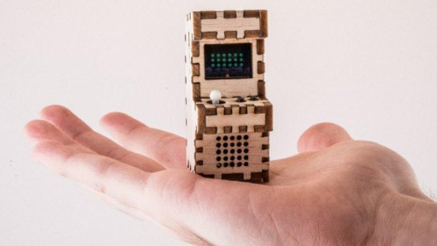 Die kleinsten Arcade-Automaten der Welt