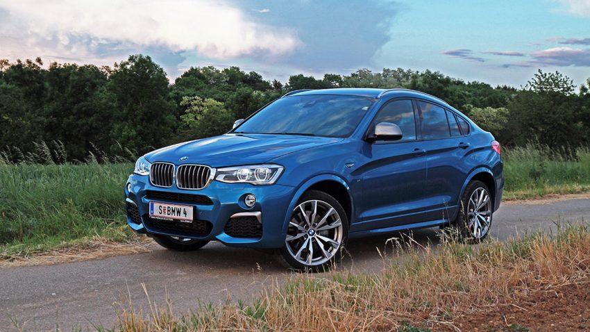 BMW X4 M40i: M für ein X