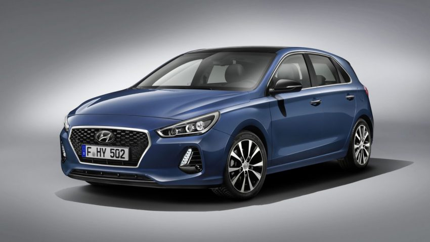 Der neue Hyundai i30, ein Wasserfall für Alle