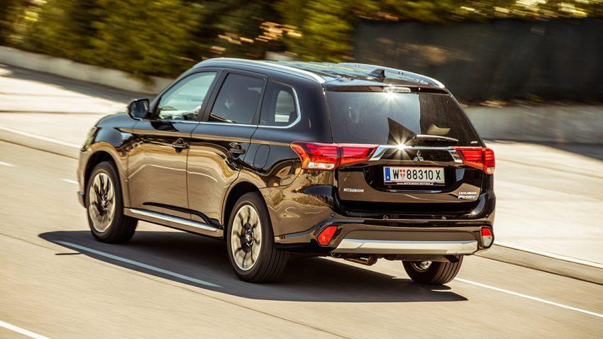 Mitsubishi Outlander PHEV: Auf leisen Sohlen