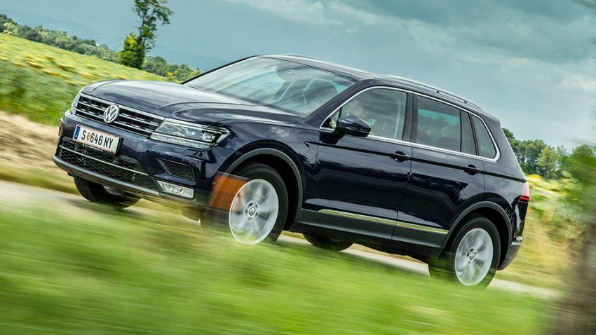 VW Tiguan TDI 4motion DSG Highline: Keine Ecken, aber Kanten