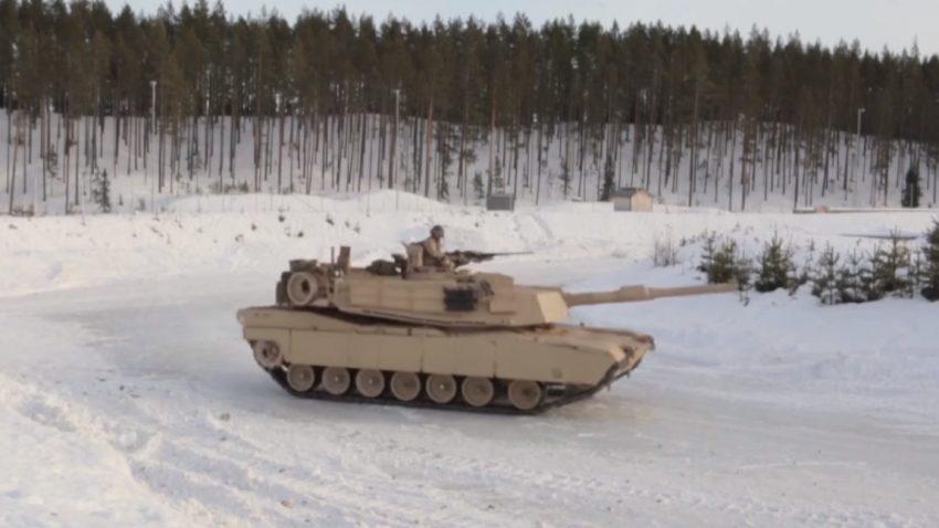Panzer auf Eis