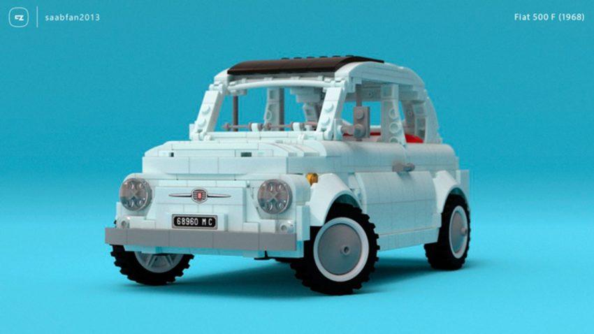 Amore mio: LEGO Fiat 500