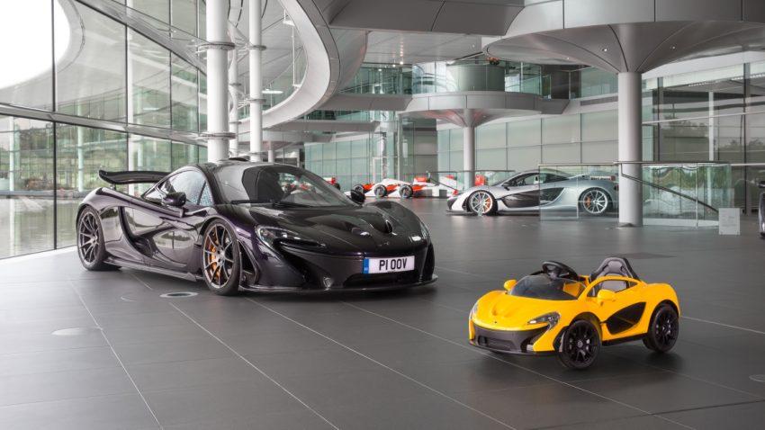 Der neue McLaren P1: Winzig klein und rein elektrisch