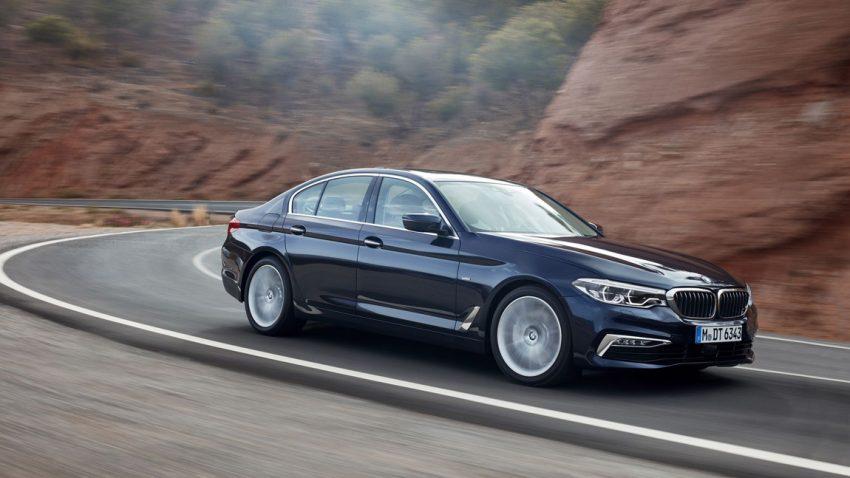Der neue BMW 5er G30 fährt ein, autonom!