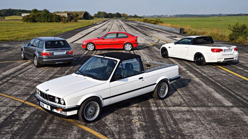 BMW M: 4 einzigartige Fahrzeuge