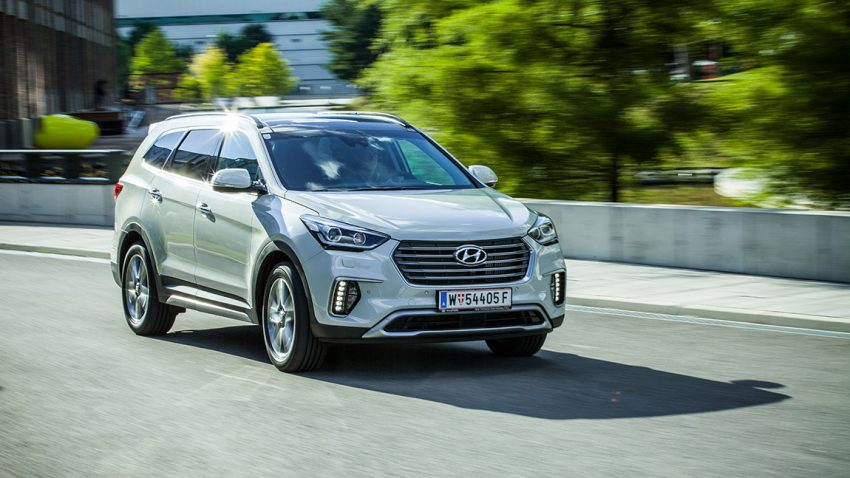 Hyundai Grand Santa FE: Max Cruz reitet weiter