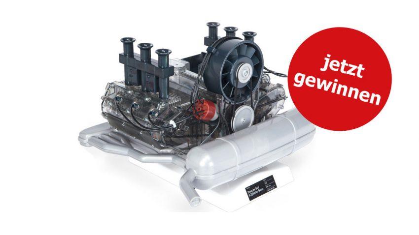 Porsche 6-Zylinder-Boxermotor zu gewinnen!