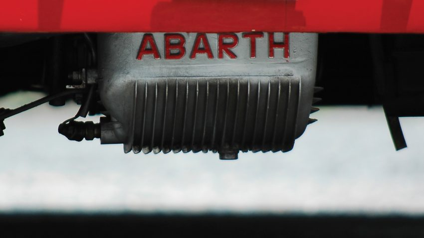 Abarth, komplizierter Skorpion