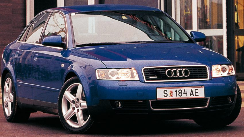 Audi A4 2,5 TDI quattro: Boys of Invention