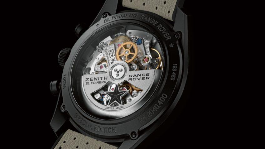 Range Rover-Armbanduhr von Zenith
