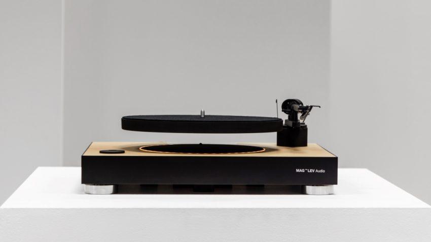Dieser Plattenspieler bringt euer Vinyl zum Schweben