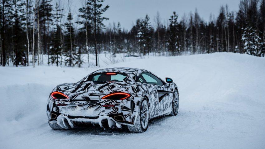 Winterurlaub für 12.500 Euro: Mit dem McLaren 570S in Lappland