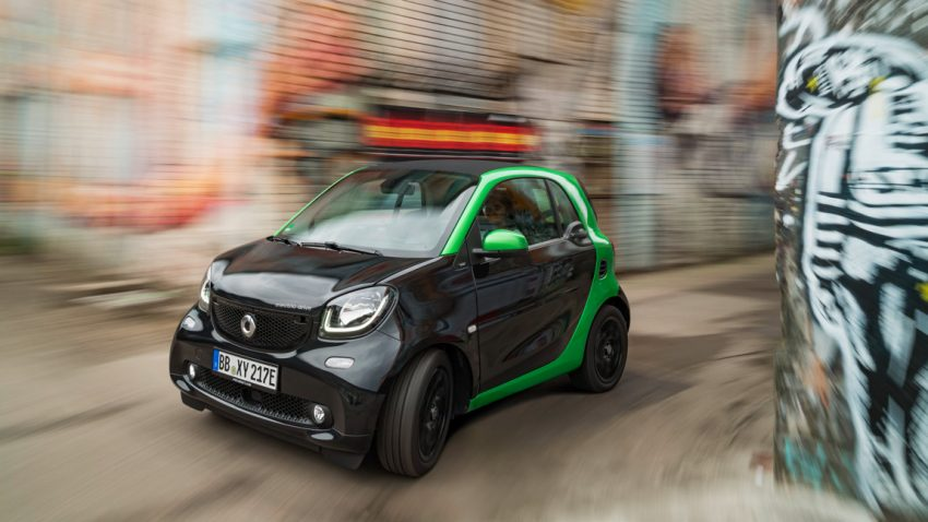 Smart Electric Drive: Strom 4 the City