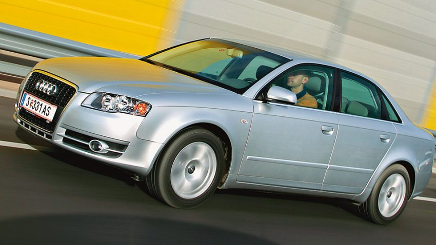 Audi A4 2,0 TDI: Hofrad