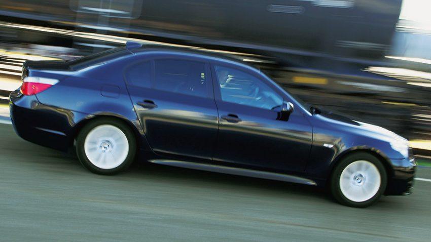 BMW 535d: Schublehre