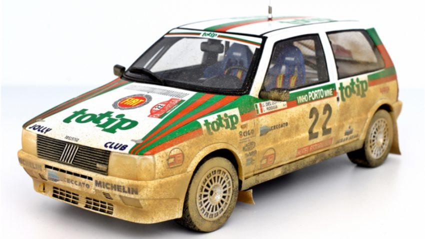 Rallye Portugal 1986: Fiat Uno Turbo als Modell