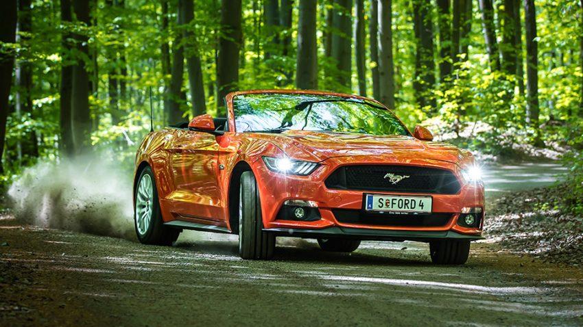 Ford Mustang V8 Convertible: Unter der Haube sitzt der Glaube