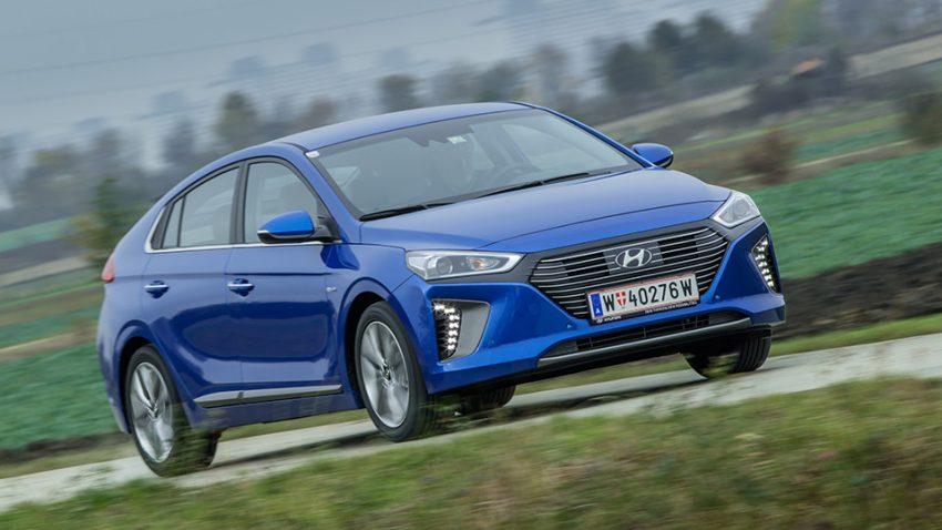 Hyundai Ioniq Hybrid + Elektro: Zukunft auf drei Beinen