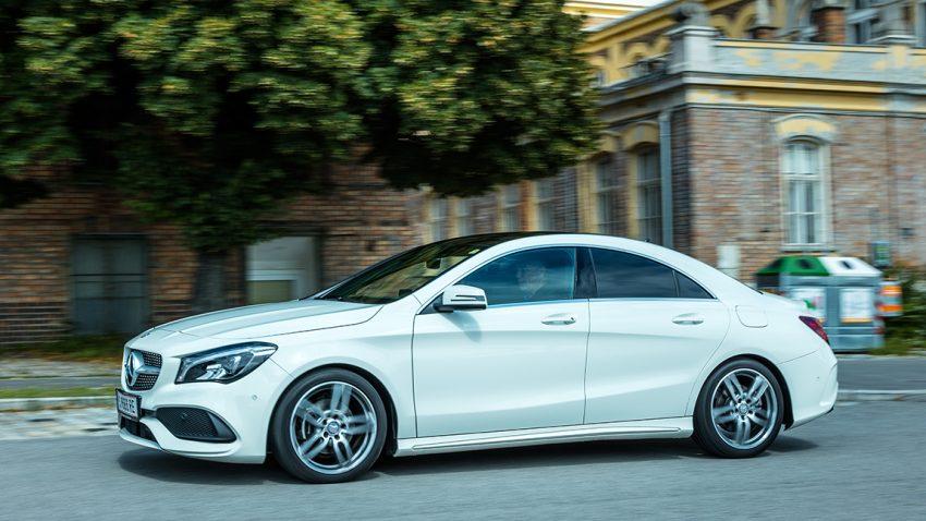 Mercedes CLA 200d: Ich Erstbesteiger