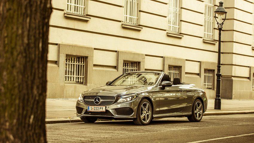Mercedes C-Klasse Cabriolet: Ich bin so frei