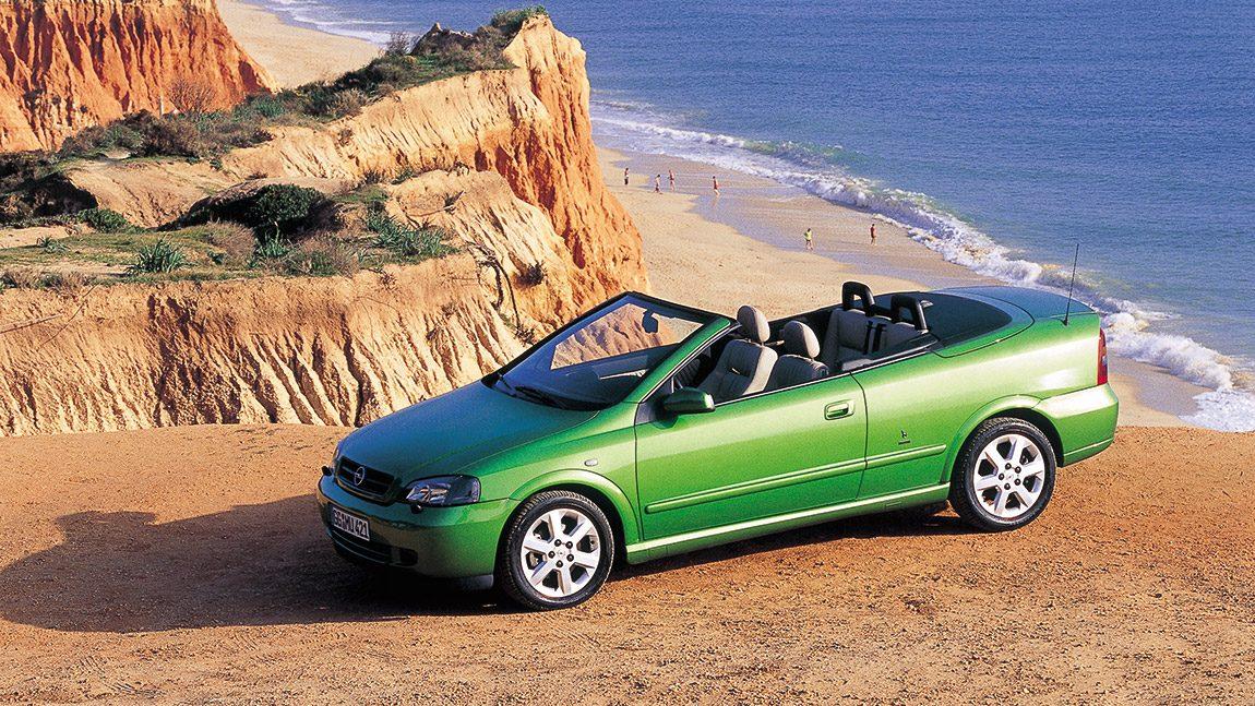 Opel Astra Cabrio: Eislokal-Hero