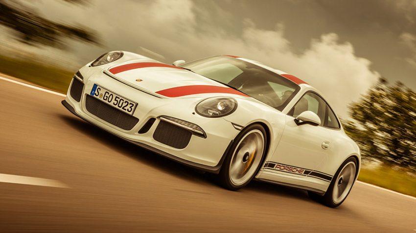 Porsche 911 R: Physik in Schlaufen