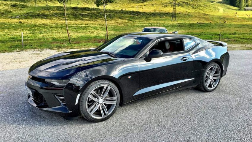 Supertest 2016: Chevrolet Camaro V8 Coupé