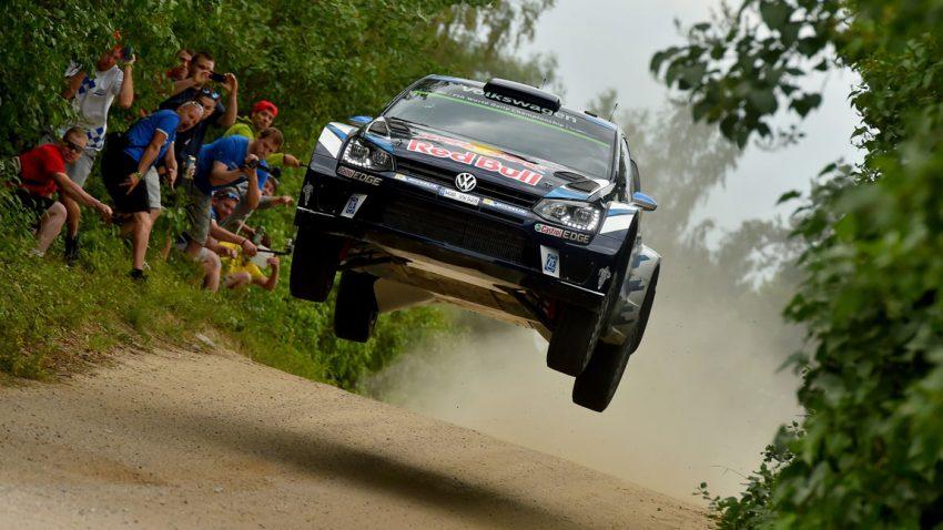 Sebastien Ogier bei der Rallye Polen 2016