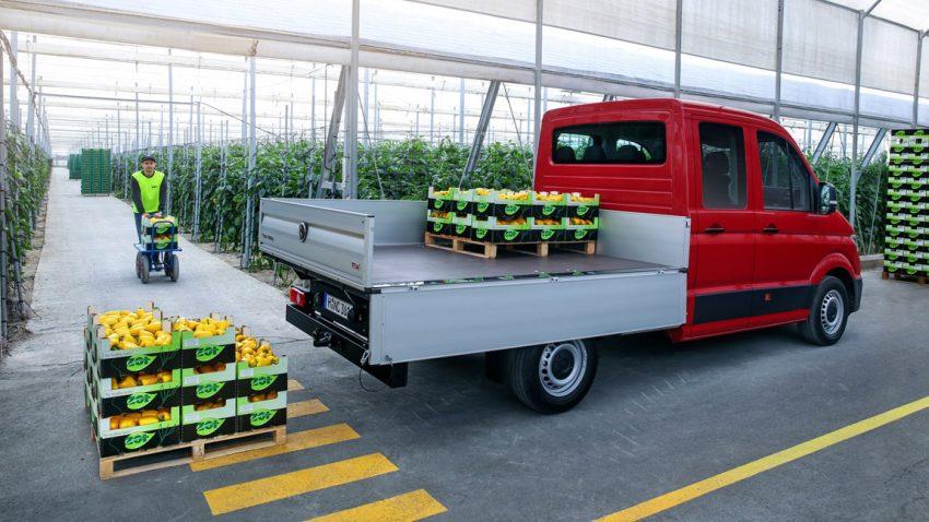 VW Crafter: Lieferwagen 2.0